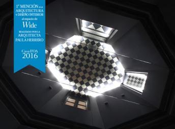 Premio al espacio Wide en Casa FOA 2016