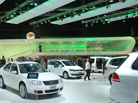 Stand VOLKSWAGEN, Salón del Automóvil 2011