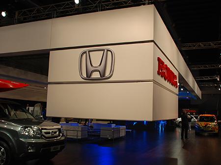 Stand HONDA, Salón del Automóvil 2011
