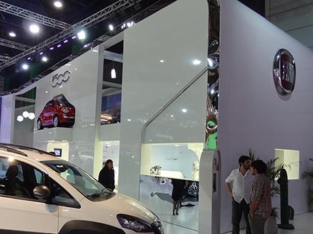 Stand FIAT, Salón del Automóvil 2011