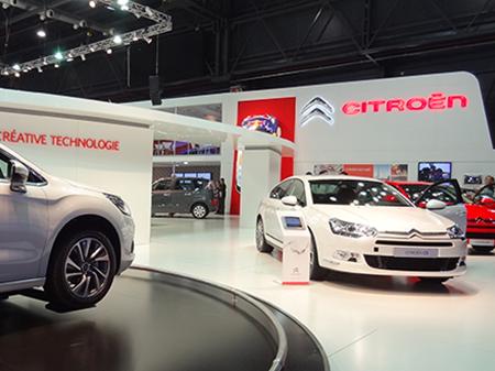 Stand CITROEN, Salón del Automóvil 2011