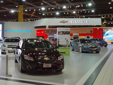Stand CHEVROLET, Salón del Automóvil 2013