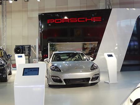 Stand PORSCHE, Salón del Automóvil 2013