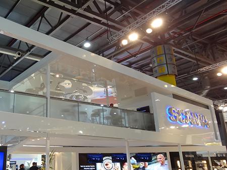 Stand SCANIA, Salón del Automóvil 2013
