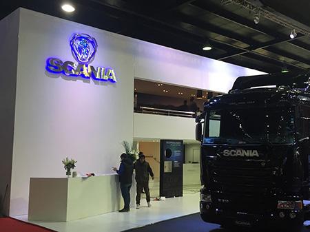 Stand SCANIA, Salón del Automóvil 2015