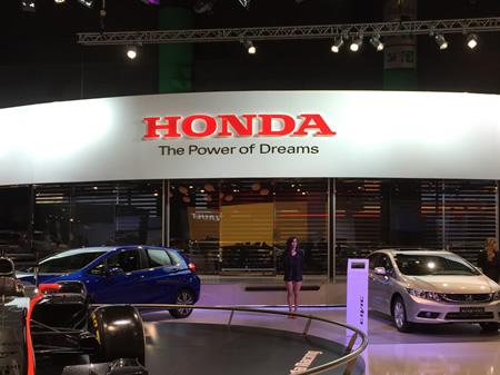 Stand HONDA, Salón del Automóvil 2015