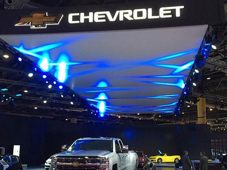 Stand CHEVROLET, Salón del Automóvil 2015