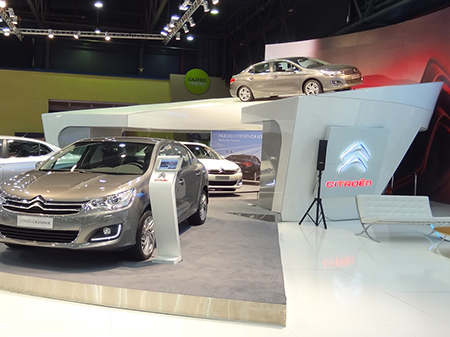 Stand CITROEN, Salón del Automóvil 2013
