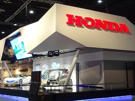 Stand HONDA, Salón del Automóvil 2013