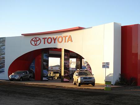 Toyota, Expoagro 2008