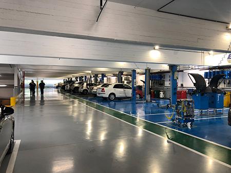 Toyota Kansai, Sucursal Donato Alvarez sección Taller