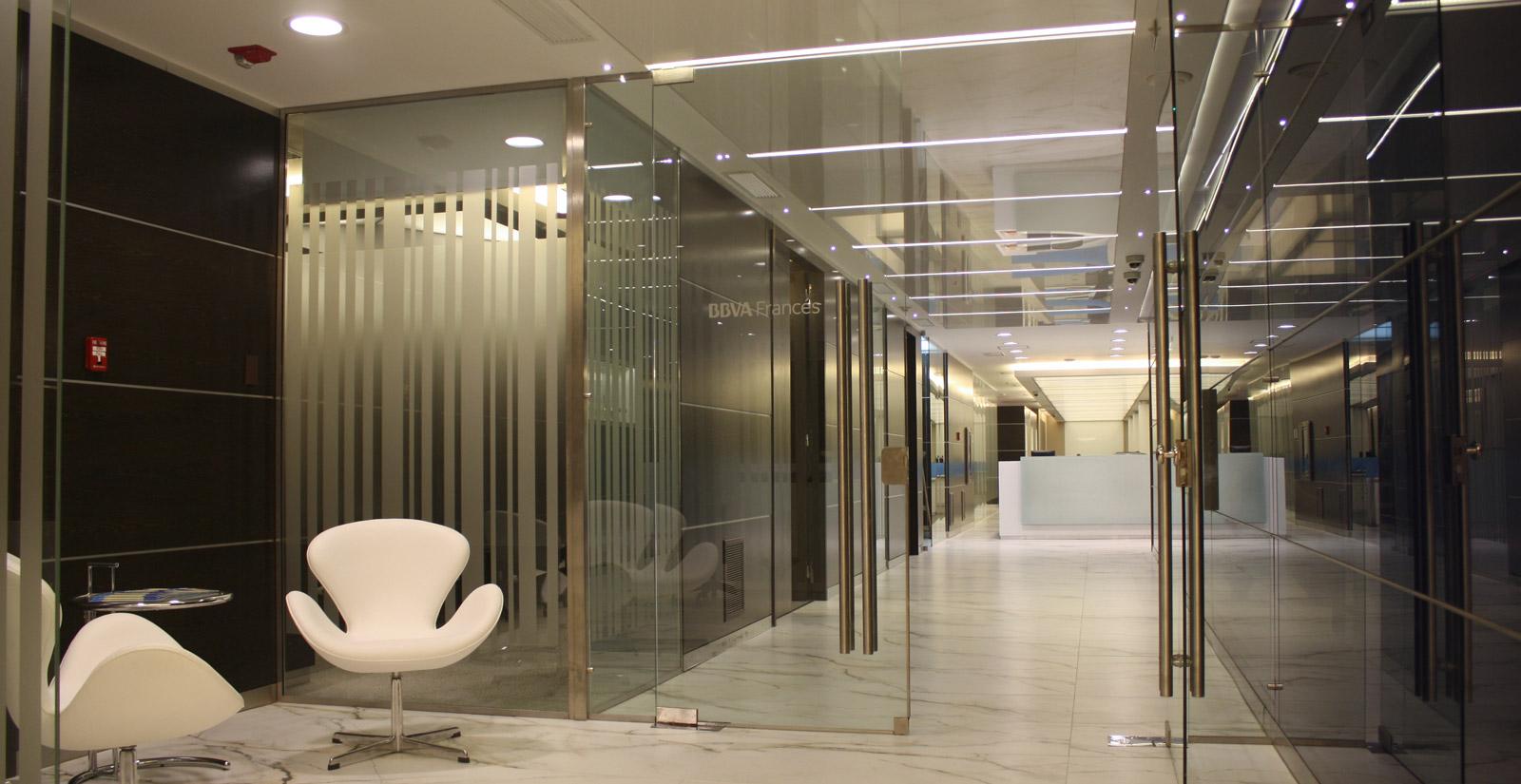 Banco BBVA Francés, Oficinas